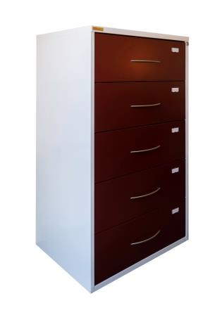 Optometry/Osteopathic filing cabinet for storage of 8 1/4