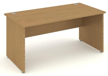 Contract panel end rectangular desk