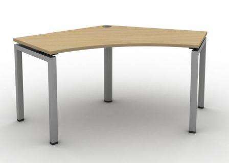 Soho2 120 degree delta single desk