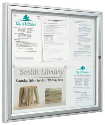 Exterior weatherproof traditional noticeboards
