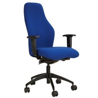 Cambs extra high back task executive chair with height adjustable arms