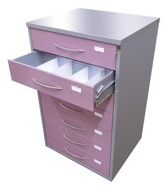 CD metal storage cabinet with drawers