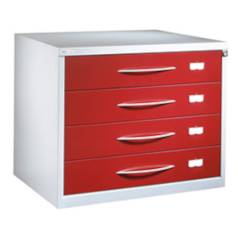 Opticians spectacles collection filing cabinet 4-drawer