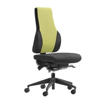 Apex Posture high back task chair without armrests