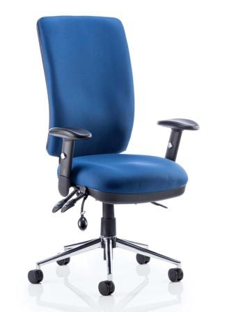 Chiro high back 24 hour fabric task chair
