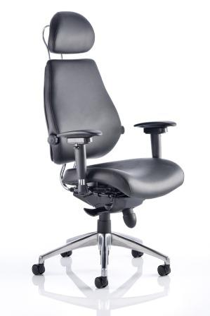 Chiro Plus Ultimate 24 hour bonded leather chair