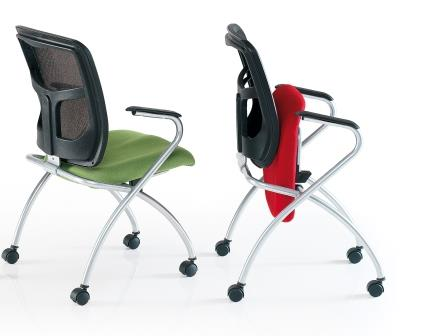 Flipper mobile conference and training seating