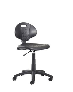 Industrial polyurethane operator chair