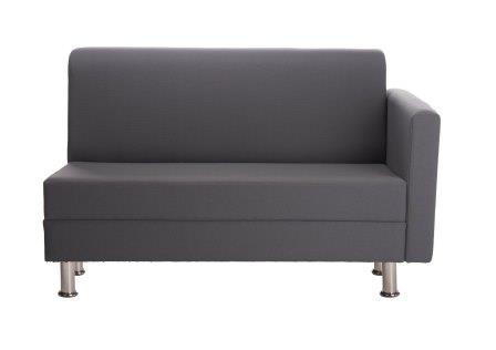 Richmond 2-seat modular reception sofa with left or right hand arm