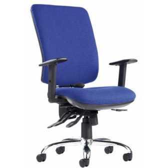 Senza ergonomic 24 hour high back task chair