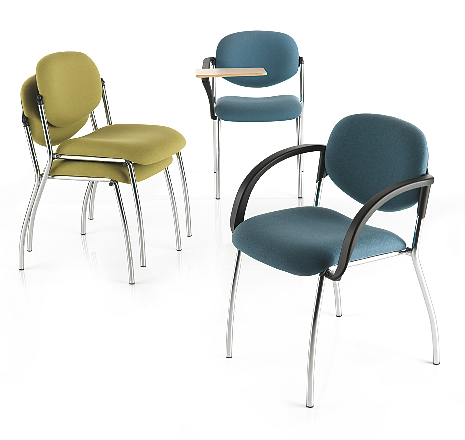 Sequel stackable conference and training chair range
