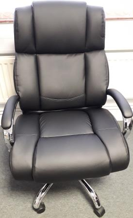 Trent heavy duty soft bonded leather chair