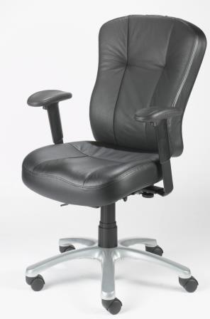 Zircon high back 24 hour bonded leather armchair