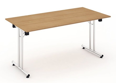 Intrigue rectangular folding legged table
