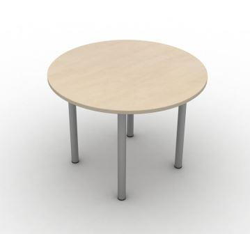 Mobili axis circular general purpose table