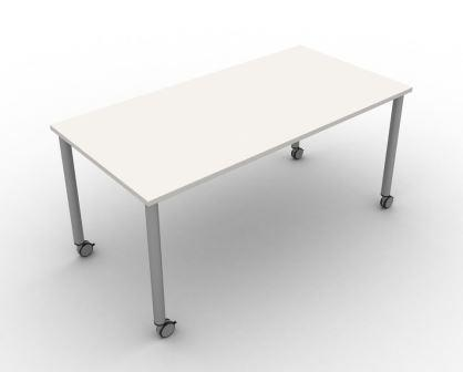 Mobili Axis rectangular mobile general purpose table