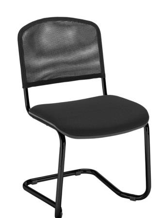 ISO net cantilever frame meeting chair