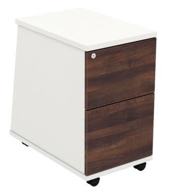Ascend low height mobile 2 and 3-drawer pedestals