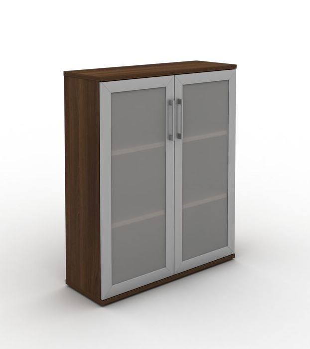 Mobili bookcases with glass doors